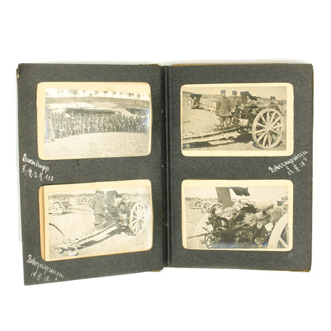 Original WWI Imperial German WWI Photo Album - Artillery Regiment