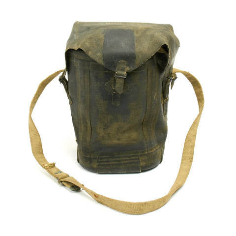 Original U.S. WWII 1944 D-Day Invasion Special Purpose Waterproof Rubber Bag