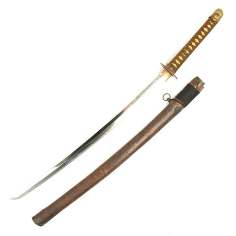Original WWII Japanese Army Officer Katana Samurai Sword Special Order Handmade Signed Blade Original Items