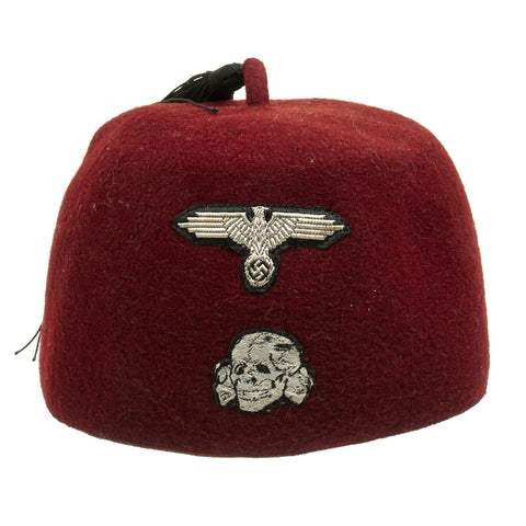 Original German WWII Waffen SS Fez For Muslim Volunteers Original Items