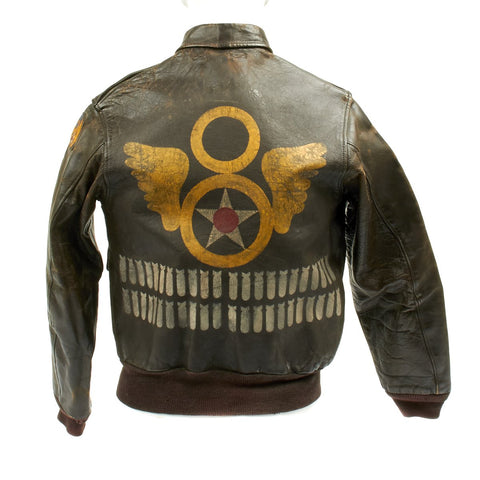 Original U.S. WWII 752nd Bomb Squadron Bailed Out Co-Pilot Named A-2 Flight Jacket