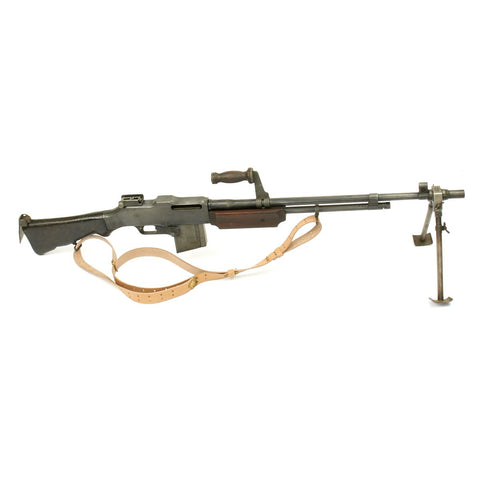 Original U.S. Browning 1918A2 BAR Display Gun Constructed with Original Parts - 1918 Dated Barrel