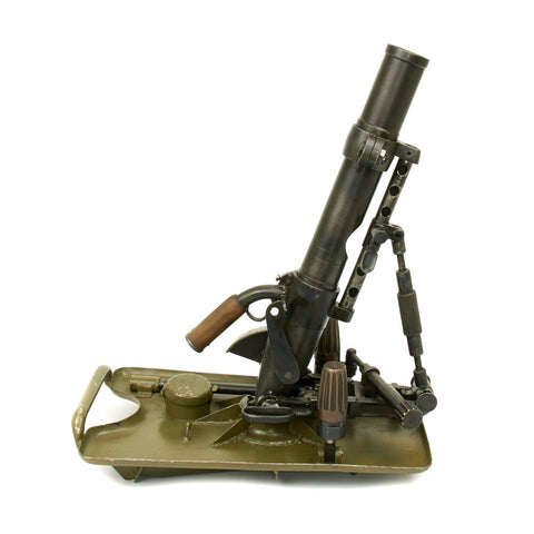 Original German WWII 5cm Leichter Granatwerfer 36 Display Mortar - Museum Grade