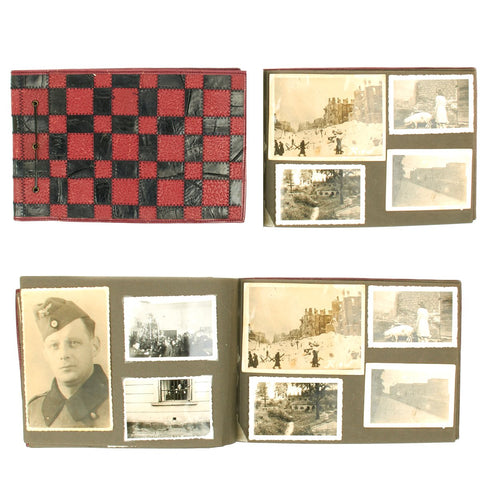 Original German WWII Heer Army Kiev Occupation Photo Album 180+ Photos