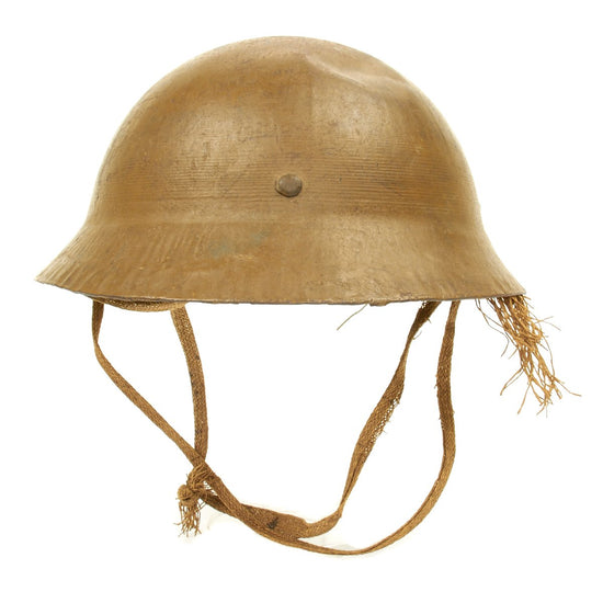 Original Japanese WWII Japanese Type 90 Civil Defense Helmet
