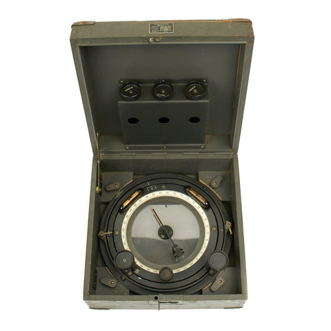 Original German WWII 1944 Luftwaffe Large Aircraft Navigational Compass FL 23265-2