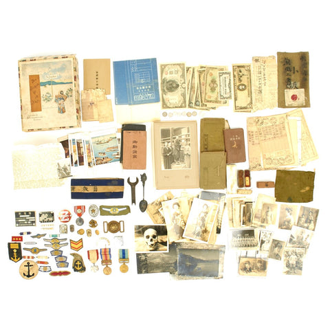 Original Japanese WWII USGI Bring Back Collection Original Items