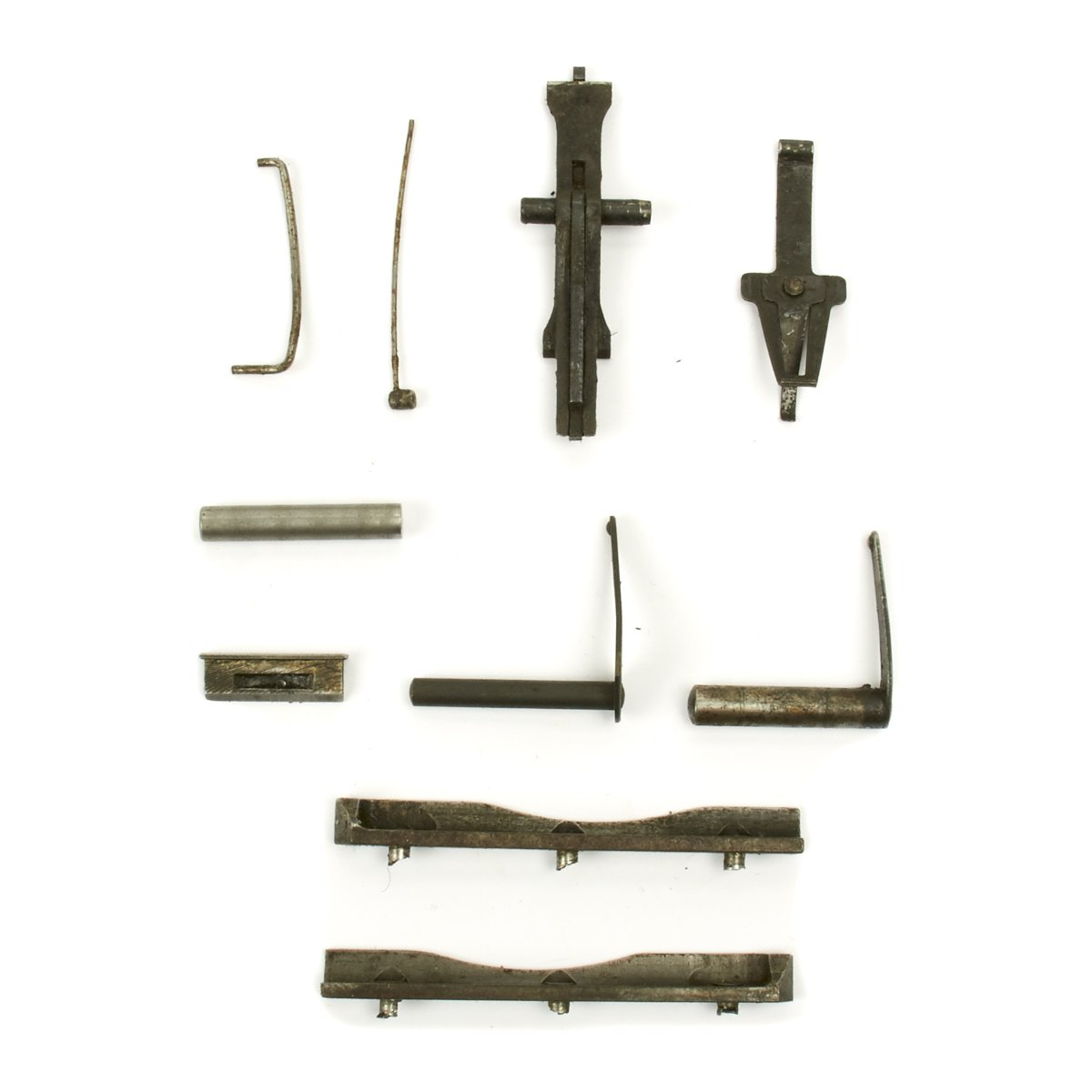 Original U S  Browning 1918A2 BAR Parts Set with Demilled