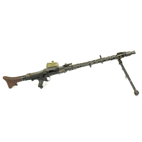 Original German WWII MG 34 Display Machine Gun - marked dot 1944