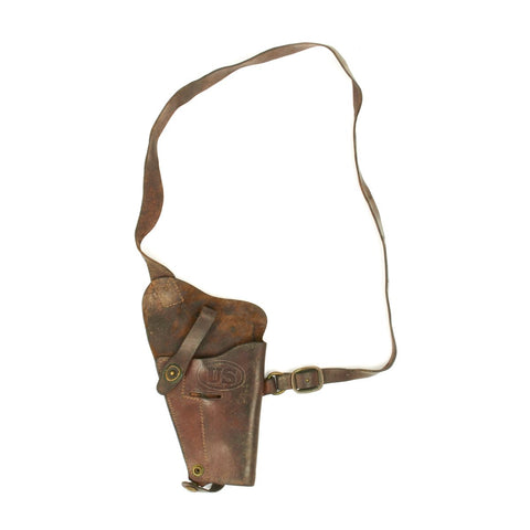 Original U.S. WWII M3 Colt 1911 .45 Tanker Shoulder Holster by Enger Kress