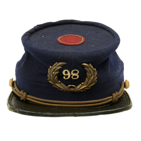 Original U.S. Civil War Union Army 76th Regiment Named Chasseur Pattern Kepi Original Items