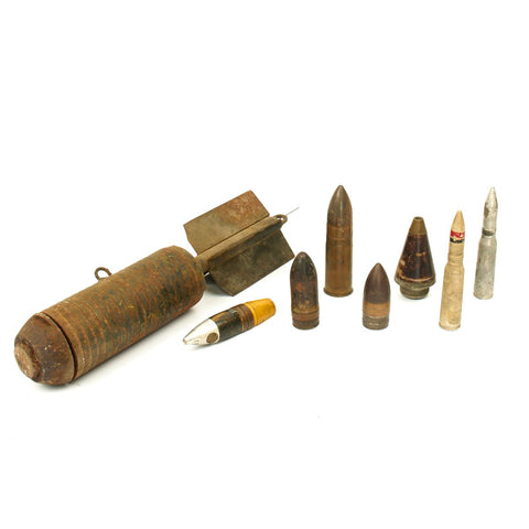 Original U.S. WWI / WWII Military Ordnance Collection