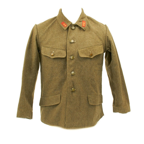 Original WWII IJA Imperial Japanese Army Wool Tunic Original Items