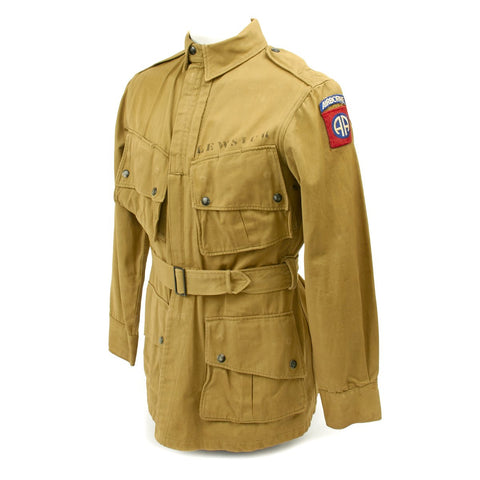 Original U.S. WWII 82nd Airborne M1942 Named Paratrooper Jacket - Mint Condition