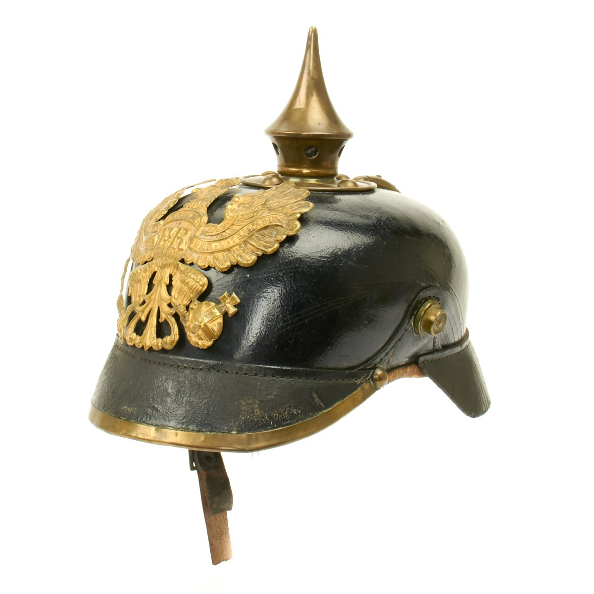 German Eagle Helmet WWII Spike Militaria Spike Helmet of the Prussian Helmet