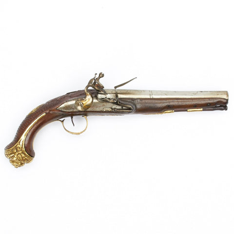 Original British Flintlock Pistol for Turkish Market Circa 1820