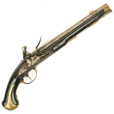Original Danish Model 1772 Flintlock Dragoon and Naval Pistol