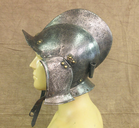Original 16th Century European Burgonet Helmet