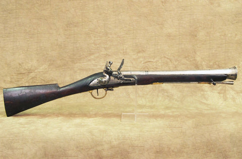British East India Company Sea Service Iron Barrel Blunderbuss marked Earl Balcarras