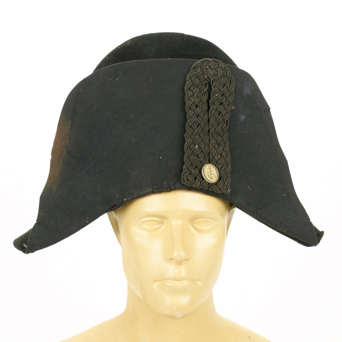 531c3eb0b98 Original 18th Century British Royal Naval Officer Collection- Bicorn Hat  with Will Dated 1783