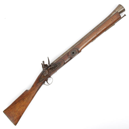 Original British Naval Flintlock Blunderbuss Swivel Gun - Circa 1780 Original Items