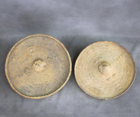 Original Pair of Somali Rhino Shields circa 1903 Original Items
