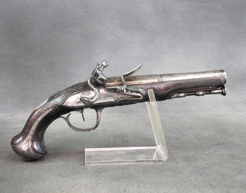 Original French Flintlock Pistol Circa 1750 - Quebec Connection