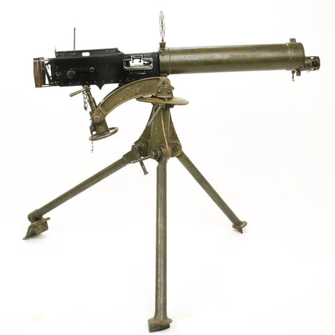 Original Pre-WWII Rare Turkish Contract Vickers Display Machine Gun with Tripod