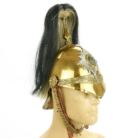 Original Victorian P-1871 Light Cavalry Helmet of the 4th Royal Irish Dragoons Original Items