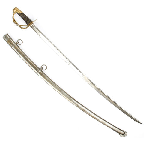 Original French Model 1816 Light Cavalry Saber with Scabbard