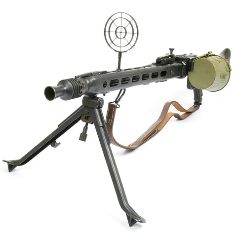 Original German WWII MG 42 Display Machine Gun with Accessories - Marked J.T. ar