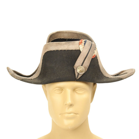Original French Early 19th Century Gendarmerie Bicorn Hat Original Items