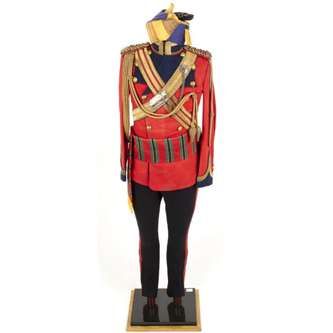 Original Victorian Era British Bengal Lancer Officer Uniform Set