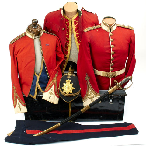 Original British Victorian West India Regiment Named Uniform Collection of Colonel John George Vaughn Hart