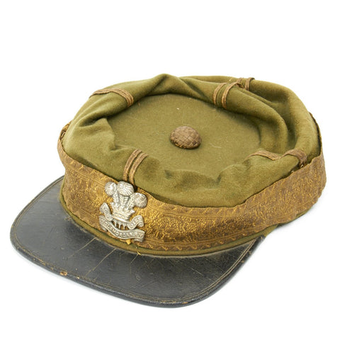 Original British Victorian Kepi From 3rd Glamorgan Rifle Volunteers - U.S. Civil War Era