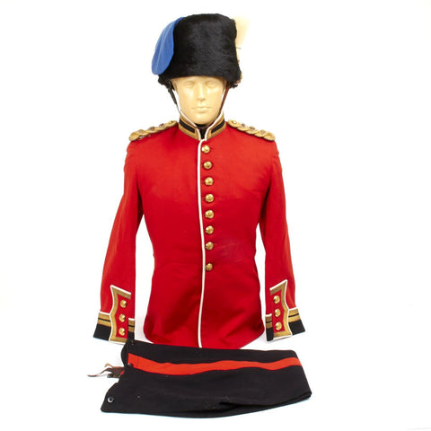 Original British Pre-WWII Uniform Set Named to Colonel N.M. McLeod D.S.O
