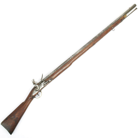 Original British Third Model Brown Bess Musket - Marked Royal Dockyard Bermuda