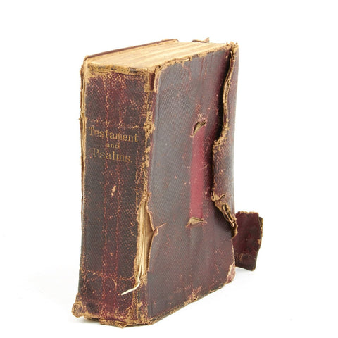 Original U.S. Civil War 1862 Dated Confederate Soldier's Named Pocket Bible of the 1st Virginia Volunteer Infantry