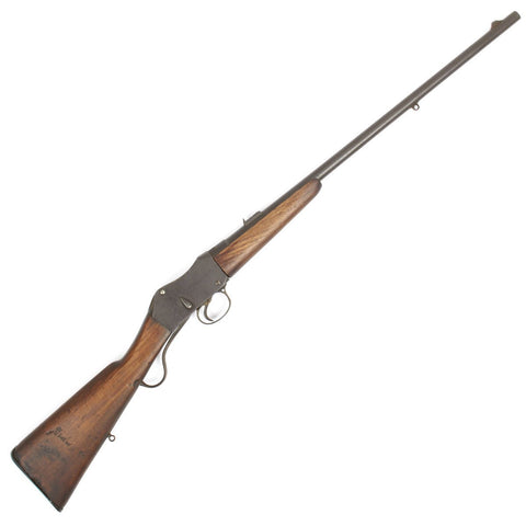 Original British .303 Caliber Martini Enfield Sporting Rifle by BSA - Dated 1885