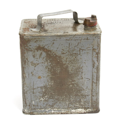 Original British WWI 1918 Dated Vickers Machine Gun Water Can - Petrol 2 Gallons
