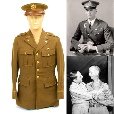 "Original U.S. WWII Colonel Jonathan ""Skinny"" Wainwright Uniform Set - Medal of Honor Winner"