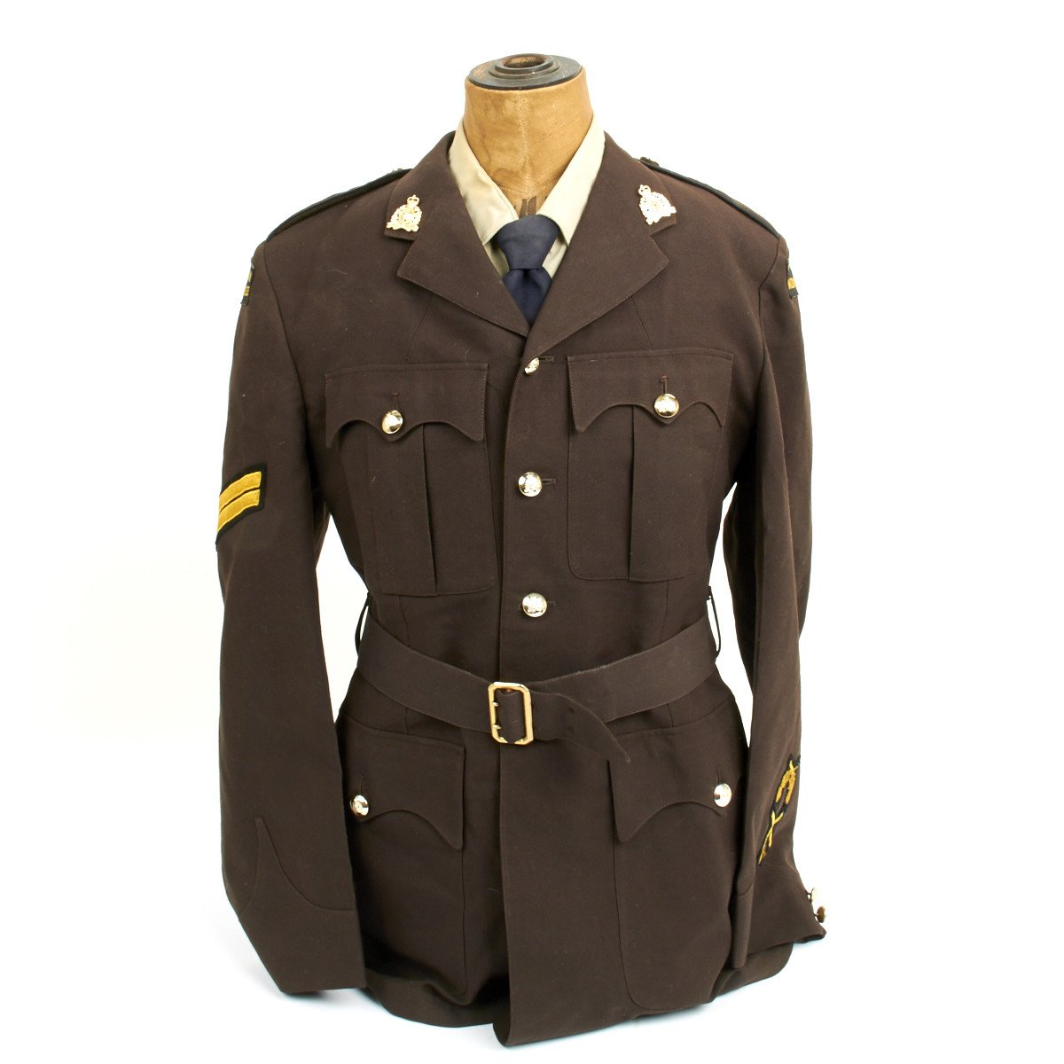 original 1955 royal canadian mounted police mountie corporal