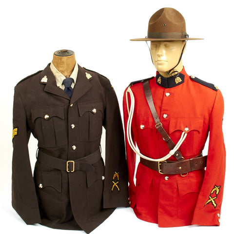 Original 1955 Royal Canadian Mounted Police Mountie Corporal Uniform Set - RCMP Original Items