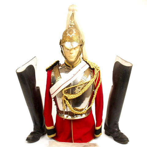 Original British Household Cavalry Life Guard Trooper Complete Uniform Set