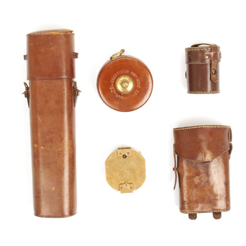 Original British WWI Officer Grouping - Sam Browne Accessories