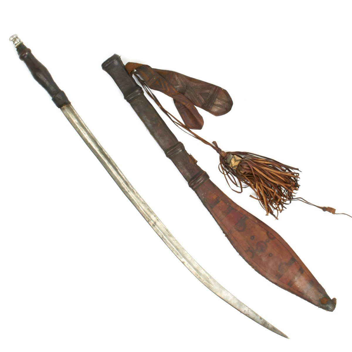 Original North West African Fulani Sword of the Slave Trade