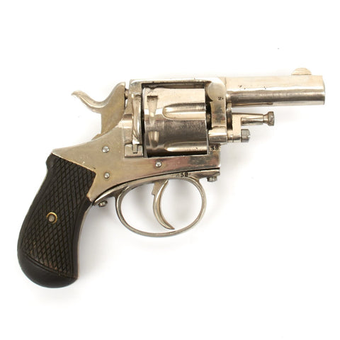 Original Model 1868 Webley .38 British Bull Dog Revolver Original Items