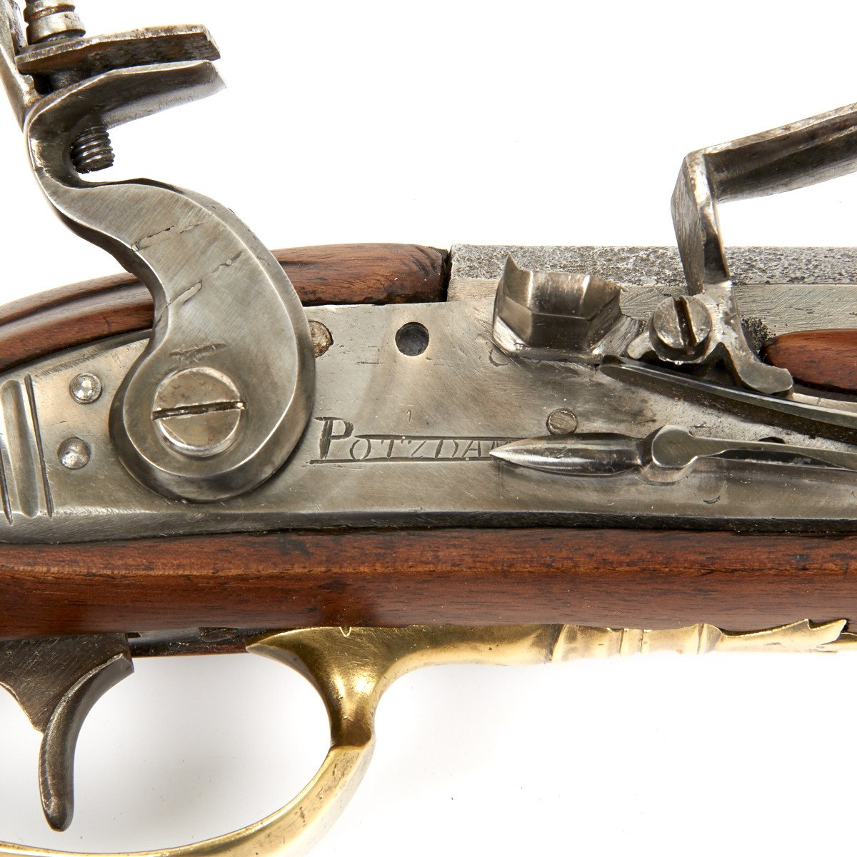 Original American Revolutionary War Flintlock Jaeger