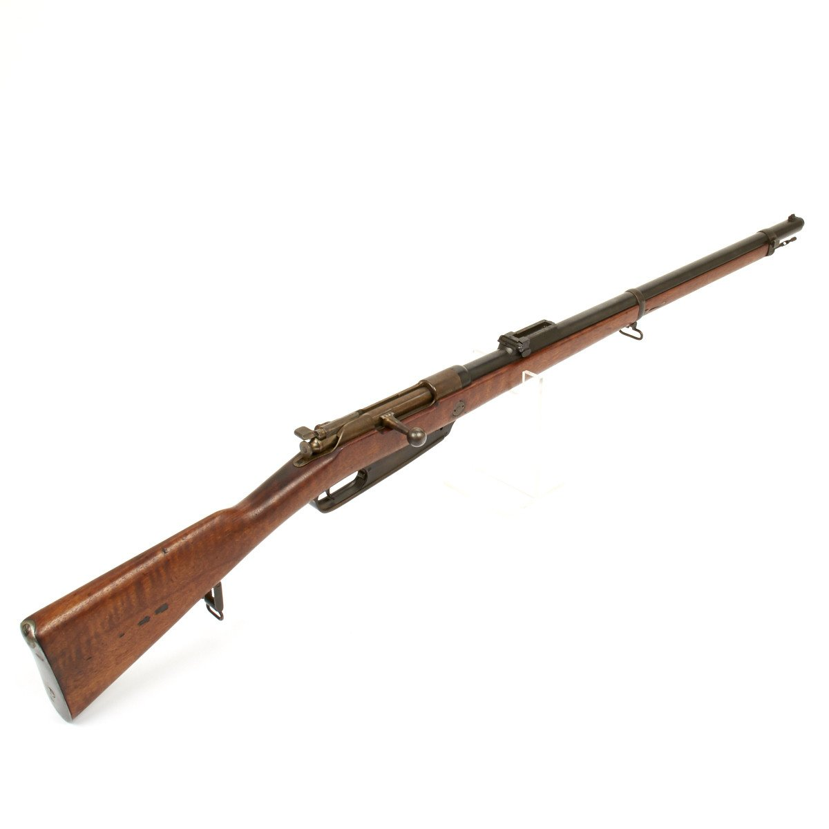 Original German Mauser 1888 Commission Infantry Rifle by Steyr