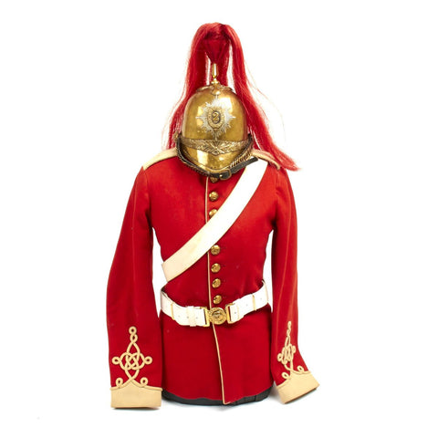 Original Late 19th Century British 2nd Dragoon Guards Uniform Set - The Queens Bays